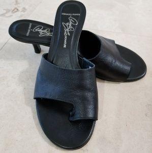 Donald J. Pliner Shoes - Donald J. Pliner slip on heeled sandals 7.5 M
